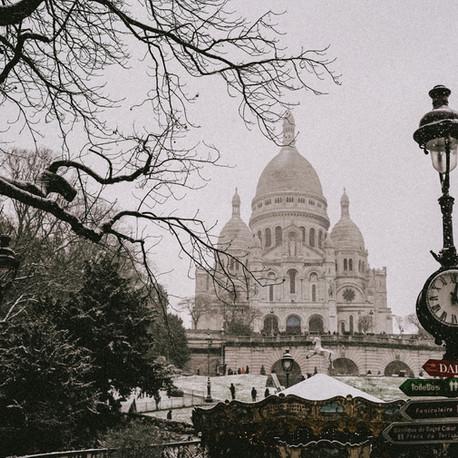 Snow in Paris 2021