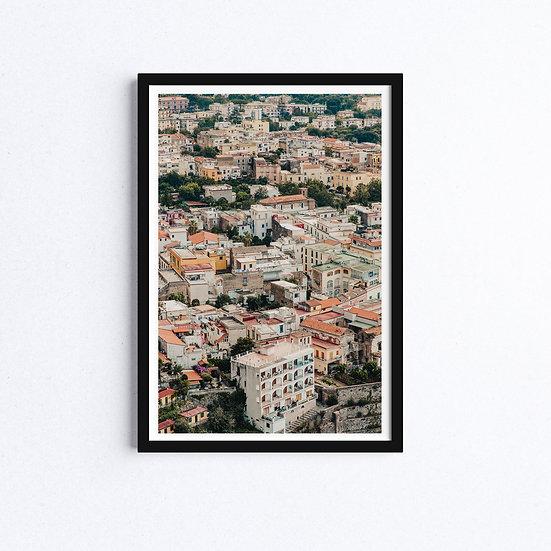 Amalfi Coast Village, Italy, Landscape Photography Prints, Fine Art Prints