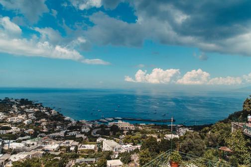 Amalfi Coast Wedding Photographer sky and sea