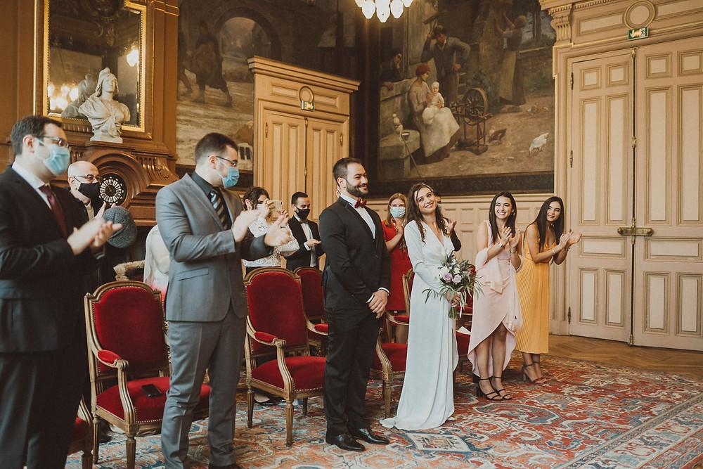 paris wedding photographer ceremony marie