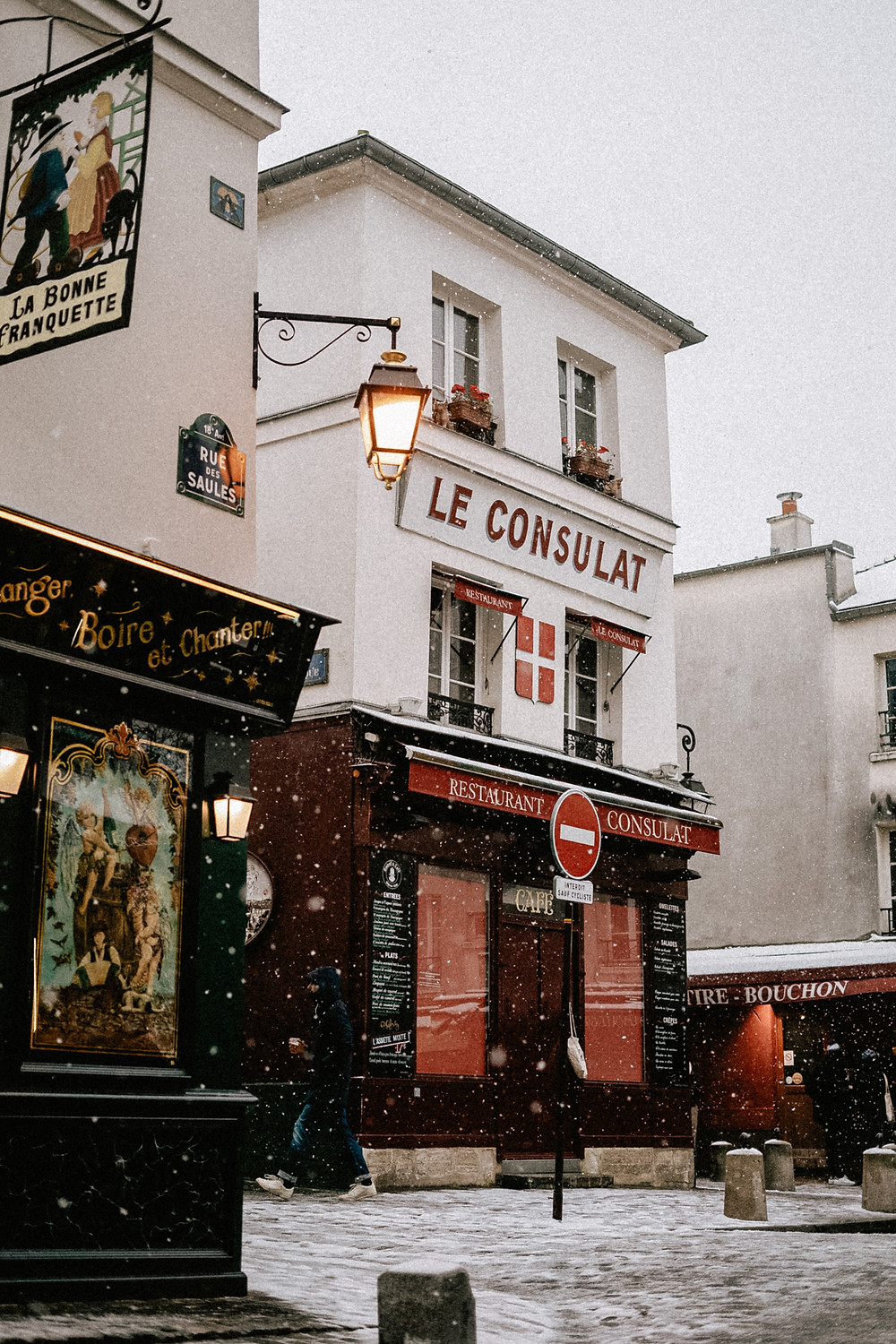 first snow in paris in 2021 le consulat