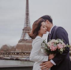 Chup anh cuoi Paris