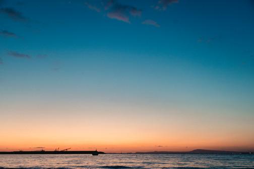 Amalfi Coast Wedding Photographer sunset at amalfi coast