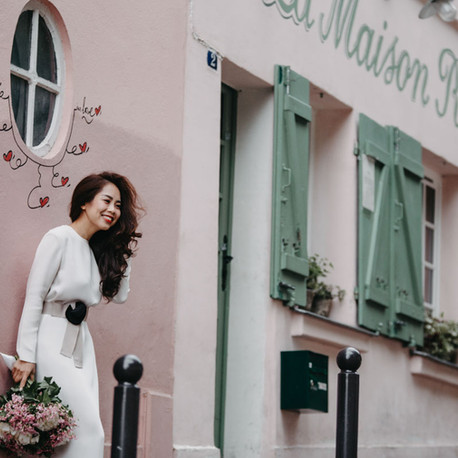 Paris Pre Wedding Photography - 3 hours session
