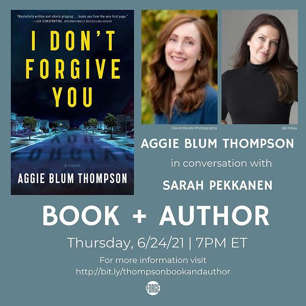 Aggie Thompson Book + Author - IGFB (For