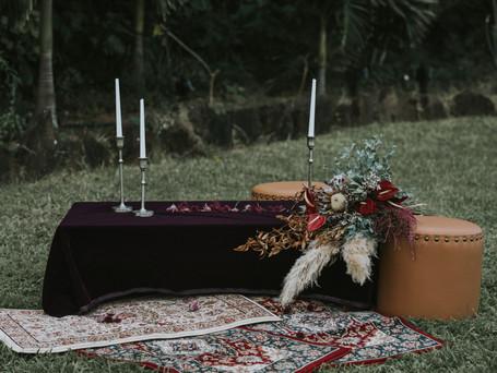 Sustainable + Moody North Shore Wedding