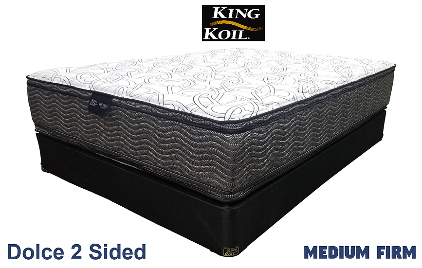 Dolce 2 Sided Pocket Coil Mattress