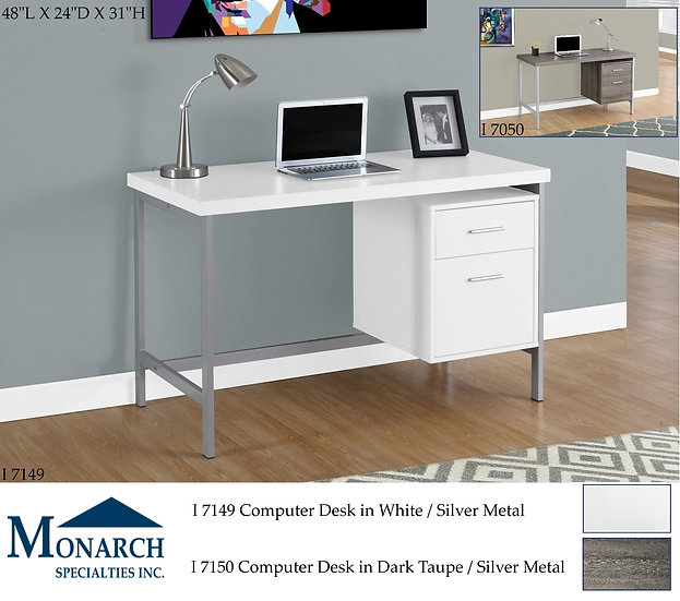 2 Drawer Computer Desk