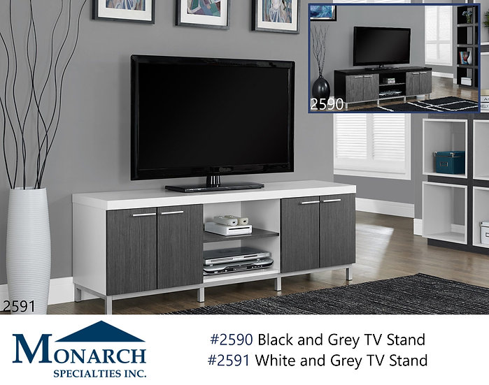 """60""""L 2 Toned TV Stand"""
