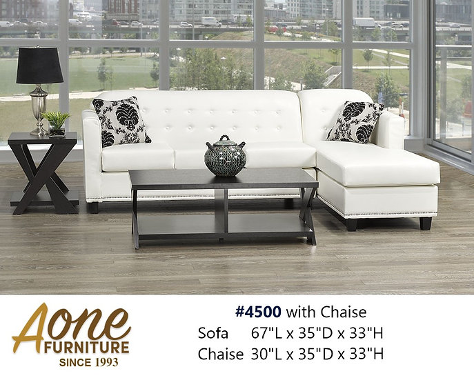 #4500 Sectional with Chaise
