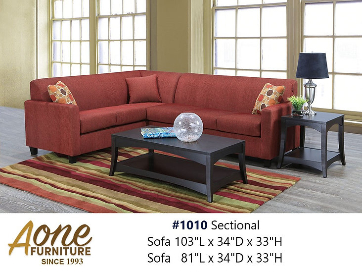 #1010 Sectional
