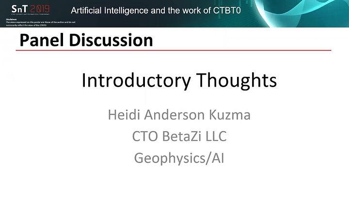 AI and physics history