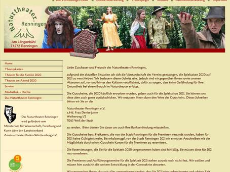 Webseite überarbeitet