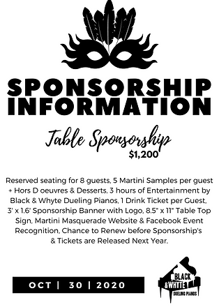 2020MartiniMasquerade - SponsorshipInfor