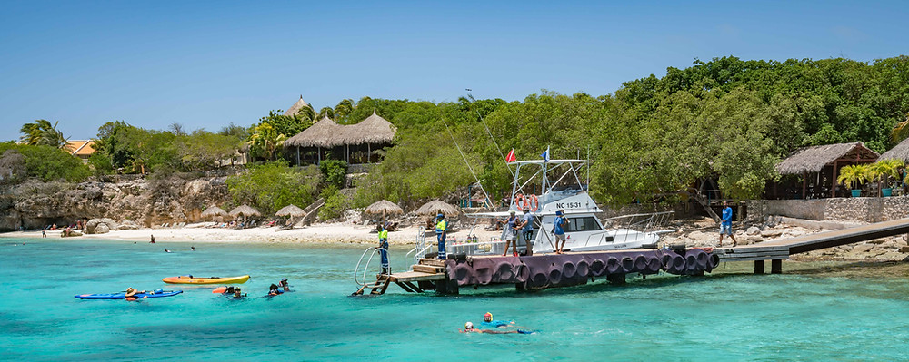GO WEST Diving is one of Curacao's most reputable, full service PADI/SSI dive operations. From shore diving to boat diving, dive courses to snorkeling tours, GO WEST Diving offers it all. An added bonus? It provides these services in a truly idyllic setting.
