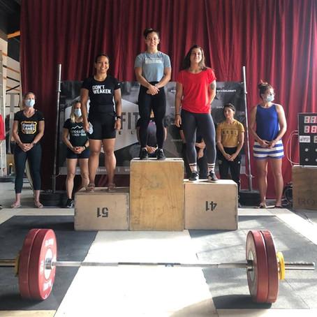 2. Platz Nati Liga A - Olympisches Gewichtheben