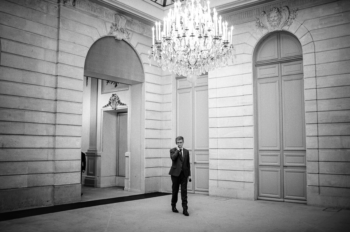 François-Xavier LAUCH, chef de cabinet du Président de la République à l'Elysée