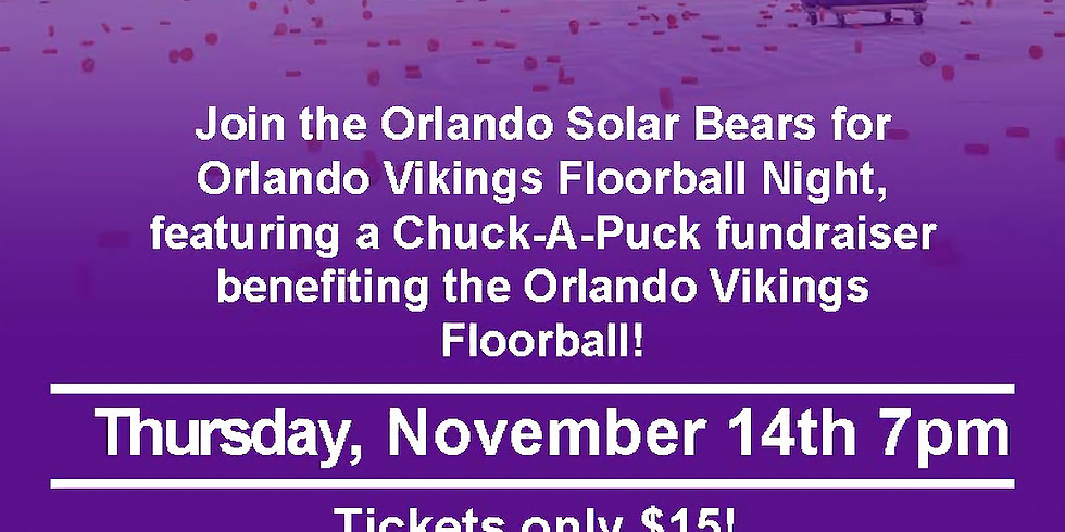 Orlando Solar Bears - Chuck-a-Puck