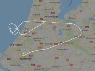 Waarom de Transavia 737 omkeerde naar Schiphol
