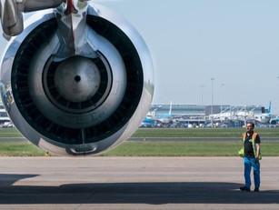 Verboden schoonmaakmiddelen gebruikt in vliegtuigen