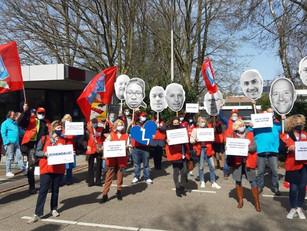 Petitie over de deeltijdroosters aangeboden aan KLM