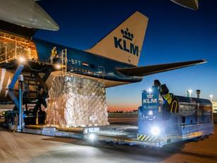 'KLM verdient niets extra aan vluchten met coronavaccin'