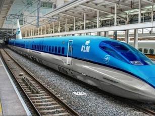 Internationale trein krijgt vleugels