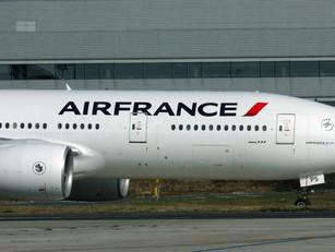 Ook Air France gestraft door China