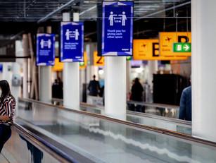 Ruim 80 procent minder passagiers op Schiphol afgelopen maand
