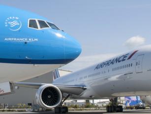 Air France - KLM volgende maand naar 221 bestemmingen