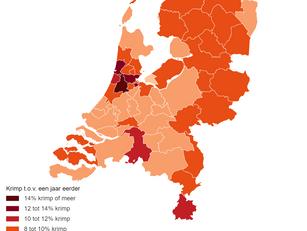 Grootste economische krimp eerste halfjaar 2020 in Haarlemmermeer