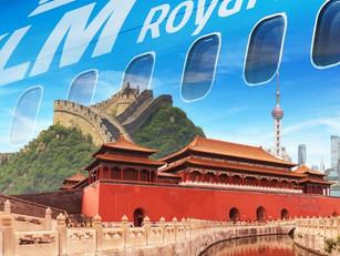 China zet KLM opnieuw op strafbankje vanwege zes positief geteste passagiers