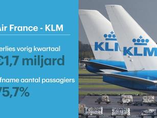 Air France-KLM in de knel: '10 miljard euro extra nodig'
