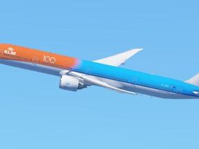 Het verhaal achter de KLM 777 'Orange Pride'