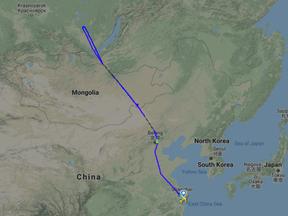 KLM 777 'Orange Pride' keert na 4 uur vliegen om naar Beijing