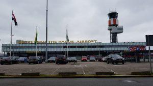 Minder emissies en duurzamer asfalt Rotterdam - The Hague Airport