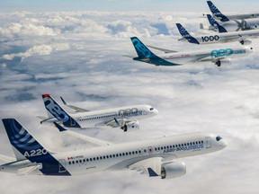 Airbus levert bijna 560 vliegtuigen af in 2020