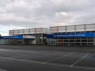 XL-teststraat Schiphol klaar voor gebruik, zelfs voor reizigers