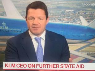KLM heeft meer steun nodig