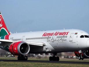 Kenya Airways vanaf eind juni weer met passagiersvluchten naar Schiphol