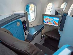 Geplaagde luchtvaart voelt ongemak in businessclass
