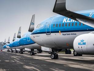 Weer miljardenverlies Air France-KLM, omzet meer dan gehalveerd