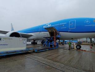 KLM Cargo: Vaccinvervoer op stoom, maar echte drukte moet nog komen