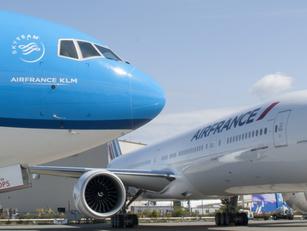 Air France-KLM gebeten hond in 2020