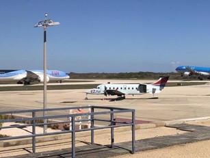 Vliegverkeer Bonaire plat om klapband: Vertraging KLM en TUI