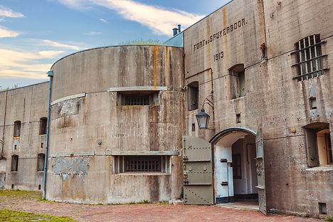 Ingang Fort bij Spijkerboor - Unlimited