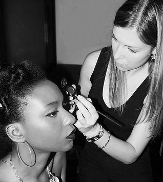 Mis comienzos hace ya muchos años. Maquillaje para Shooting en Bizkaia. Maquilladora Profesional para Fotografía, Publiciddad, Moda.