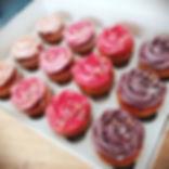 Rose Cupcakes 😍🎉 #roses #vegan #vanill