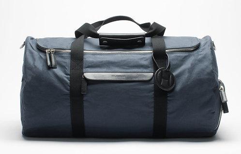 Large Duffle Weekend Bag Blue