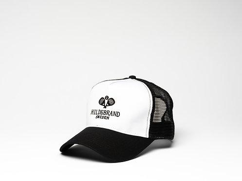 Hildebrand Black and White Cap Padel